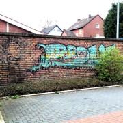 Graffiti Schatten entfernen, Gebäudereinigung, Graffitireinigung